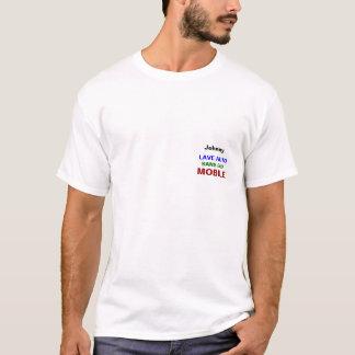Chandail versent le mobile automatique de Lave T-shirt