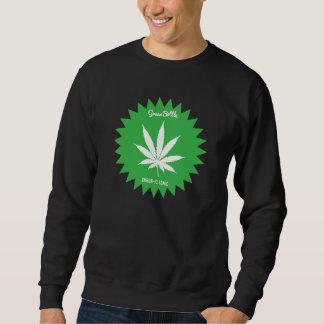 chandail vert de bouteille sweatshirt