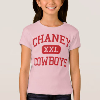 Chaney - cowboys - lycée - Youngstown Ohio T-shirt