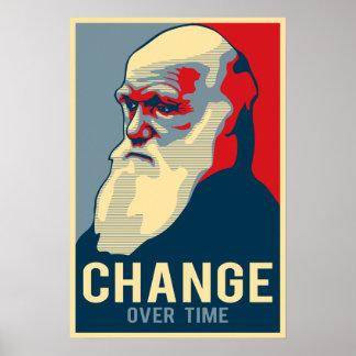 Changement au fil du temps posters