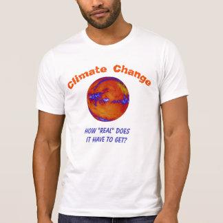 Changement climatique combien vrai personnalisé t-shirt