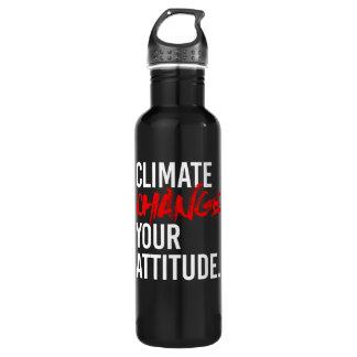CHANGEMENT CLIMATIQUE VOTRE ATTITUDE - - la Bouteille D'eau