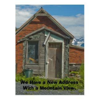 Changement d'adresse la carte : Mountain View