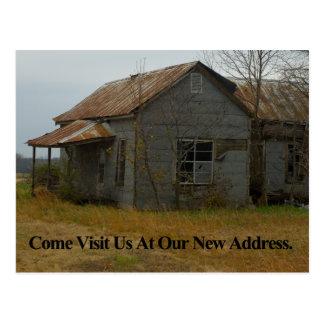 Changement d'adresse la carte : Venez rendez-