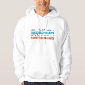 Changement probant veste à capuche