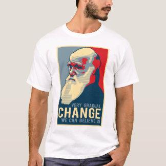 Changement très progressif que nous pouvons croire t-shirt