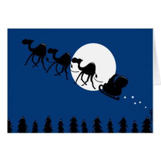 changez en Père Noël l'équipe Carte De Vœux