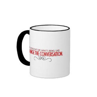 Changez la conversation mug ringer