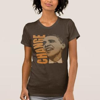 Changez le T-shirt des femmes de Barack Obama