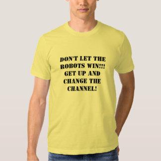 Changez les hommes de T-shirt de la Manche