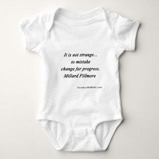 Changez pour le progrès - Millard Fillmore Body