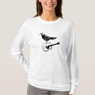 chanson de guitare de corbeau t-shirt
