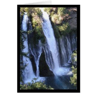 Chanson de la cascade de Tarzan de solénoïde. Carte De Vœux