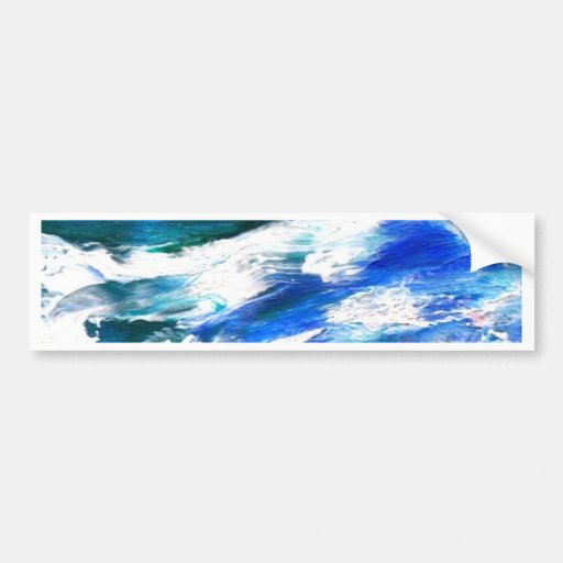 Chanson de lune - art d'océan de CricketDiane Adhésifs Pour Voiture