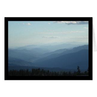 Chanson de montagnes brumeuses de solénoïde. Carte