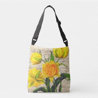 Chanson jaune de tulipes sac