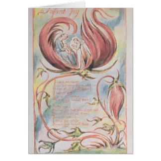 Chansons de l'innocence ; Joie infantile, 1789 Carte De Vœux