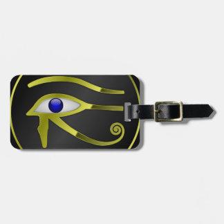 Chant religieux égyptien d'or de l'Egypte de Ra Étiquette À Bagage
