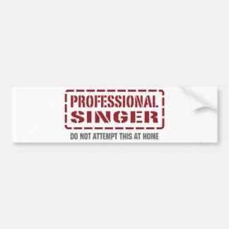 Chanteur professionnel autocollant pour voiture