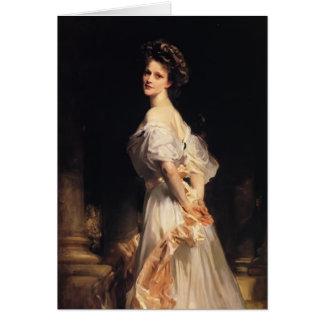 Chanteur Sargent- Nancy Astor de John Carte De Vœux