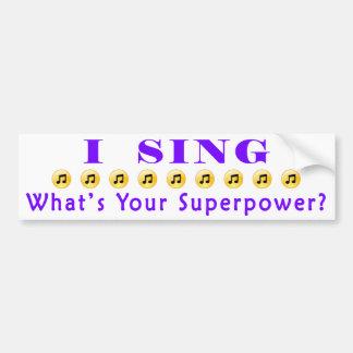 Chantez l'adhésif pour pare-chocs de la autocollant de voiture