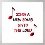 Chantez une nouvelle chanson au seigneur posters