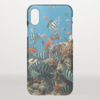 Chaos tropical de poissons coque iPhone x