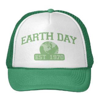 Chapeau 1970 de jour de la terre casquettes de camionneur