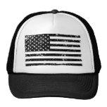 Chapeau affligé de camionneur du drapeau américain casquettes