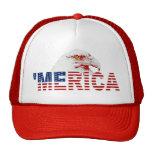 'Chapeau américain de drapeau de MERICA Eagle chau Casquettes