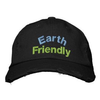 Chapeau amical de la terre casquette brodée