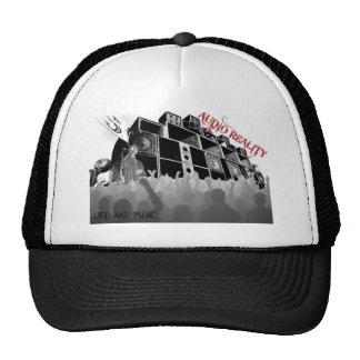 chapeau audio 1 de réalité casquette