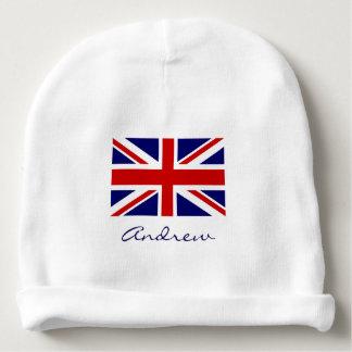 Chapeau britannique de calotte de bébé de drapeau bonnet de bébé
