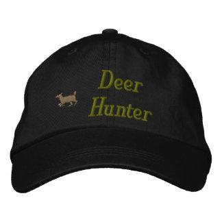 Chapeau brodé par chasseur de cerfs communs