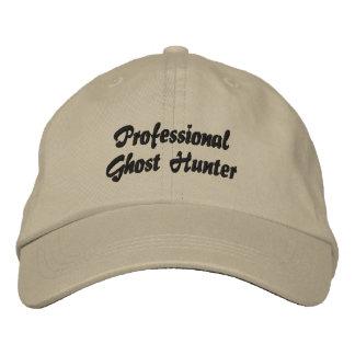 Chapeau brodé par chasseur professionnel de fantôm