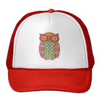 Chapeau coloré de hibou casquettes