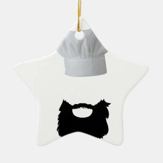 Chapeau Cook Ornement Étoile En Céramique