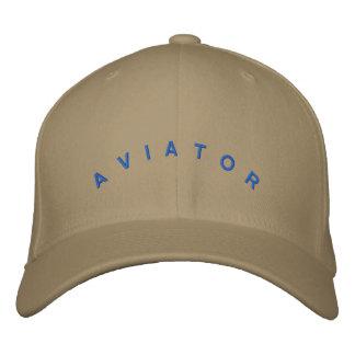 Chapeau d'aviateur chapeau brodé