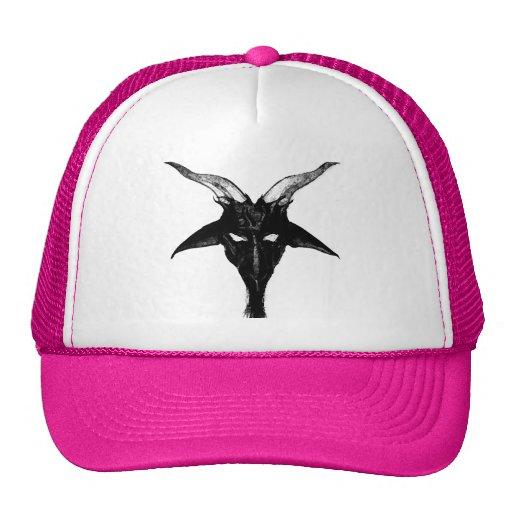 Chapeau de Baphomet Illuminati Casquettes De Camionneur