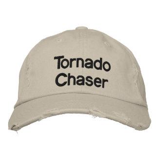 Chapeau de base de chasseur de tornade chapeaux brodés