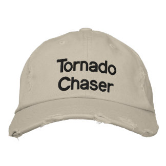 Chapeau de base de chasseur de tornade casquette brodée