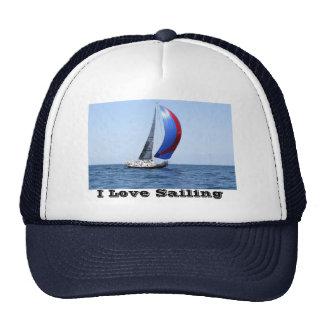 Chapeau de bateau à voile casquette de camionneur