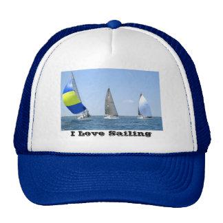 Chapeau de bateau à voile casquettes de camionneur