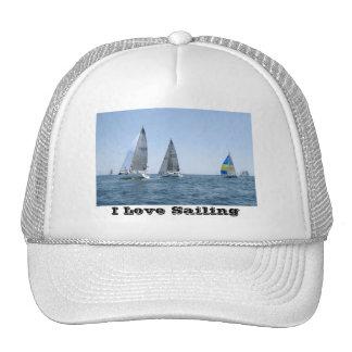Chapeau de bateau à voile casquette