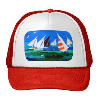 """Chapeau """"de bateaux à voile"""" casquettes"""