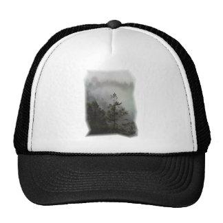 Chapeau de brume de séquoia casquettes de camionneur