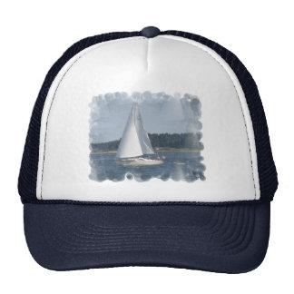 Chapeau de bulles de bateau à voile casquette