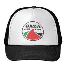 Chapeau de camionneur de club de surf de Gaza Casquettes De Camionneur