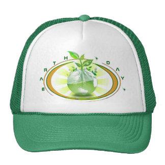 Chapeau de camionneur de jour de la terre casquette trucker