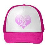 Chapeau de camionneur de Loveheart de Japonais Casquette De Camionneur